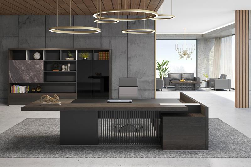 High-end Boss Office Furniture BORILL OFFICE DESK