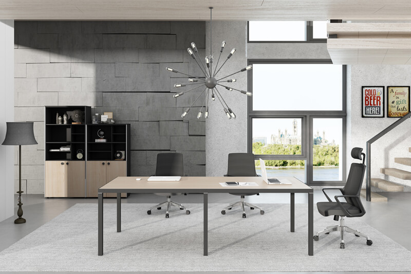 GOJO 12 foot conference table for business for boardroom-1