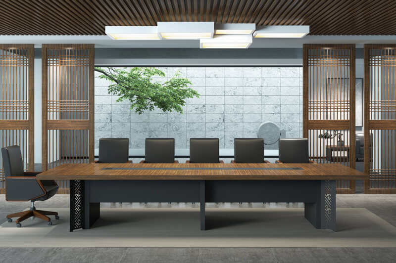 Custom computer desk for home use for business for conference room-1