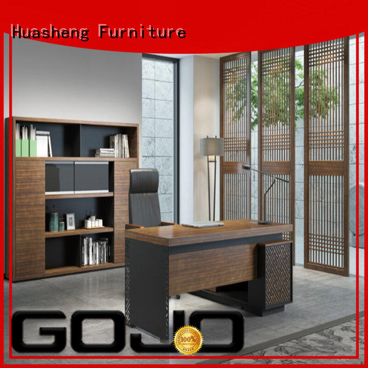 GOJO yuche wood file cabinet mfc for ceo office