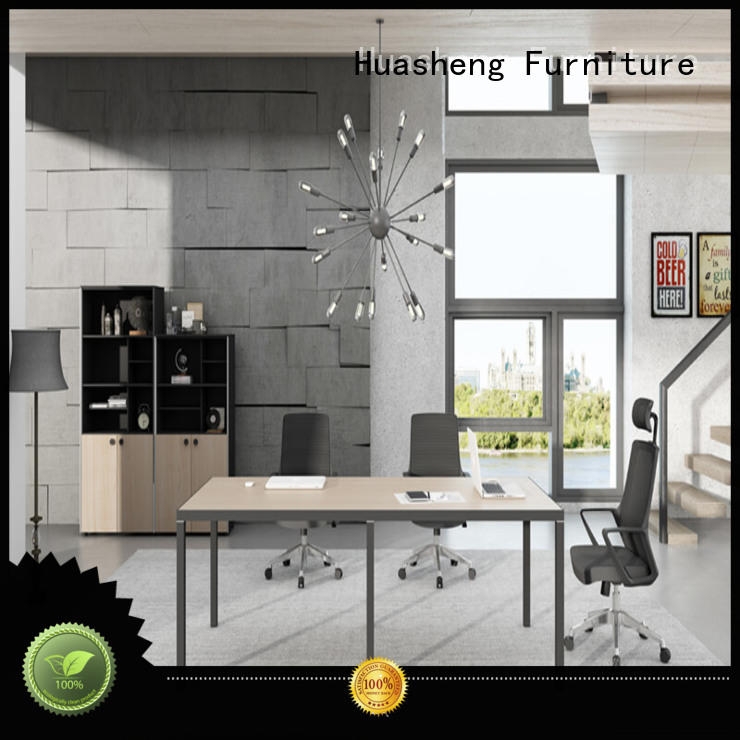 jixiang meeting room furniture with double-deck mesa