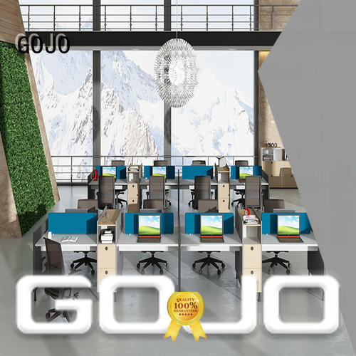 GOJO sit and stand office desks manufacturers for clerk area