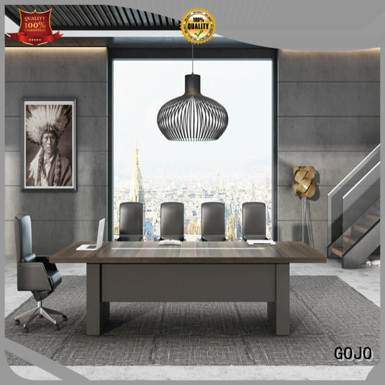 ruiyi office meeting table with double-deck mesa for boardroom