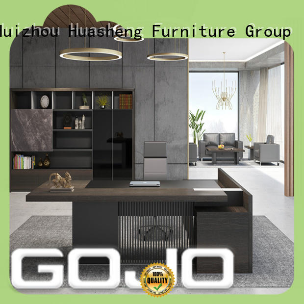 mdf corporate office desk supplier for sale GOJO