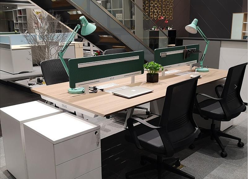2020 New Design Cano Long Office Table Trend Clerk Desk