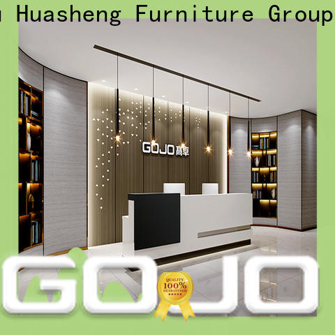 high quality modern office front desk for business for reception area