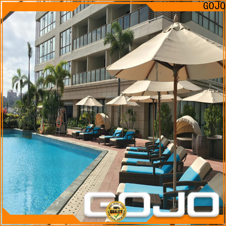 customized outdoor lounge furniture for holiday hotels