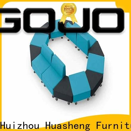 GOJO imsion leather waiting room furniture company for guest room