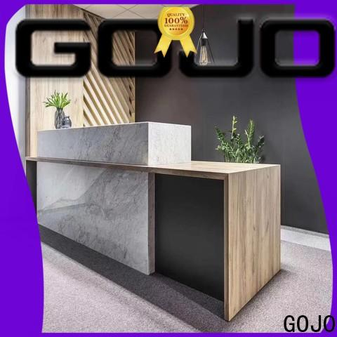 GOJO office front desk furniture Supply for lobby