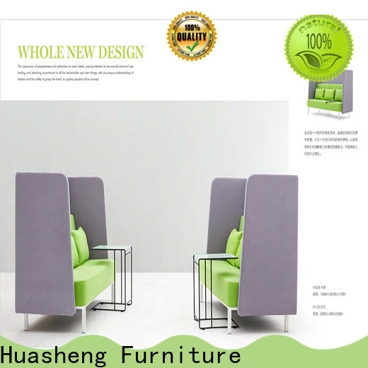 industrial leather furniture set Supply for reception area