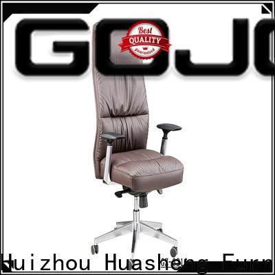 GOJO Custom brown office chair for business for ceo office
