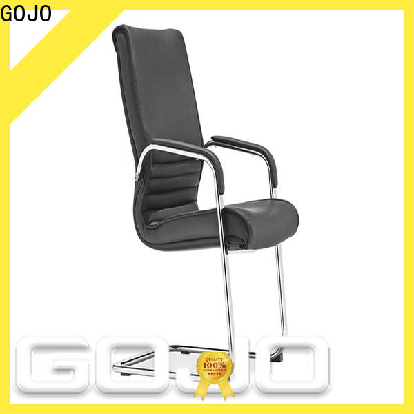GOJO grey leather executive office chair for business for executive office