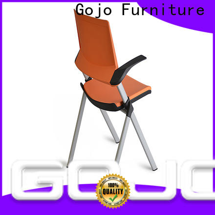 GOJO Custom leather conference room chairs for business for training area