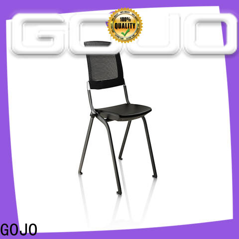 stackable armless conference room chairs company for training area