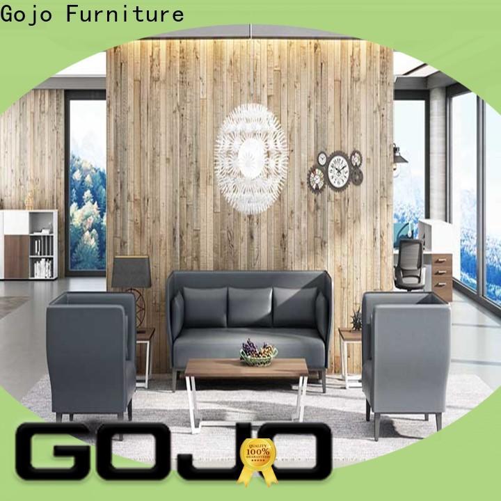 GOJO reception area furniture sets factory for lounge area