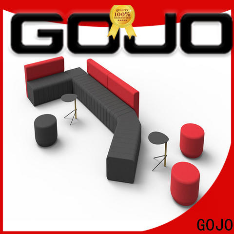 GOJO reche reception table and chairs manufacturers for lounge area