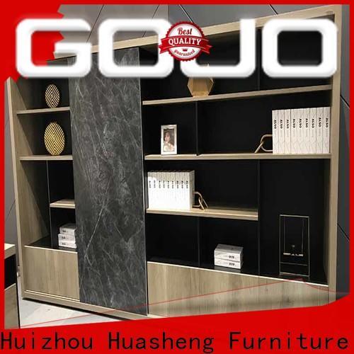 High-quality oak room divider shelves company for executive office