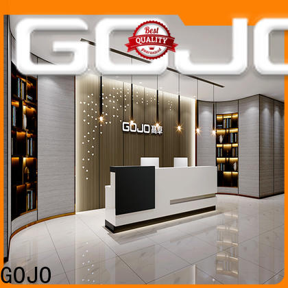 GOJO front desk office furniture factory for reception area