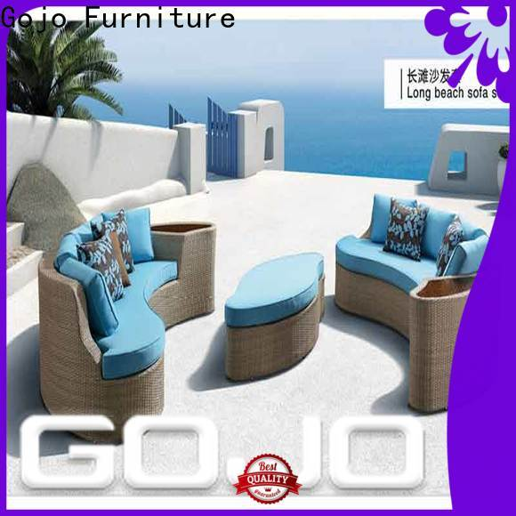 GOJO Best portable outdoor furniture for business for beaches
