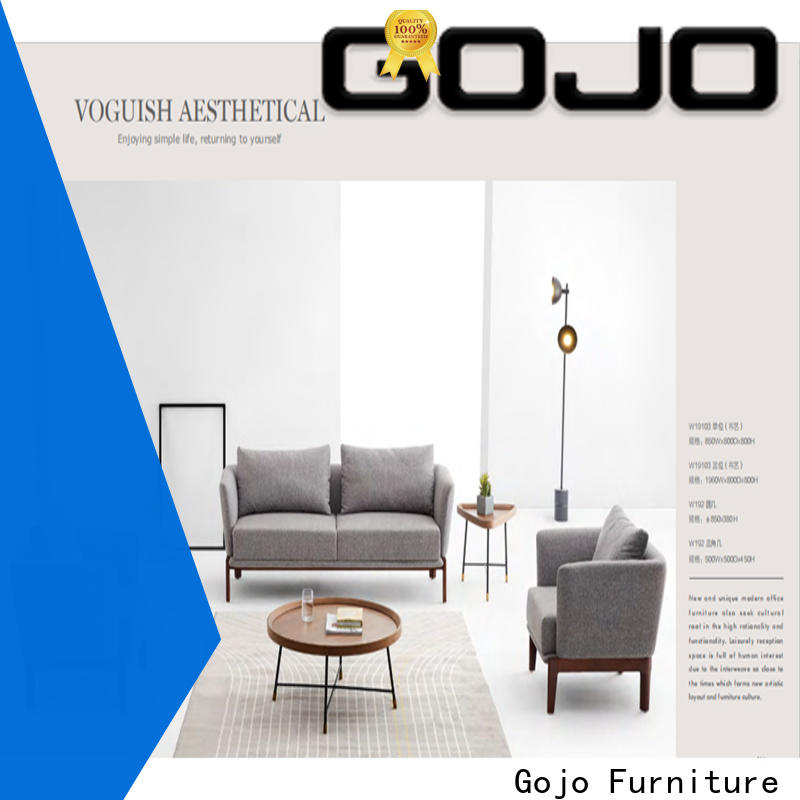 GOJO wina office reception furniture sets manufacturers for lounge area