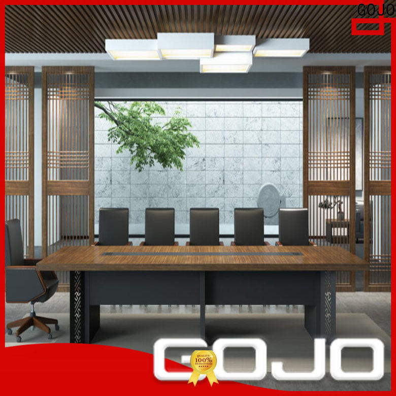 GOJO New white conference room table