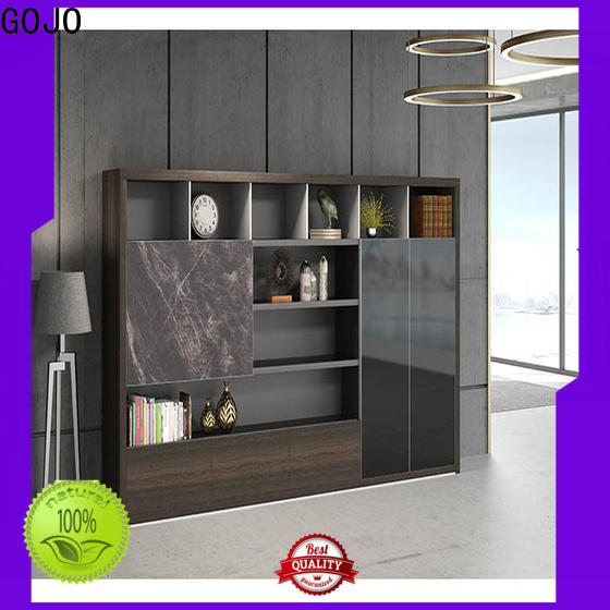 GOJO Latest office file cabinets wood Supply for ceo office