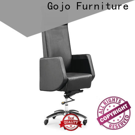 GOJO high back real leather office chair company for ceo office