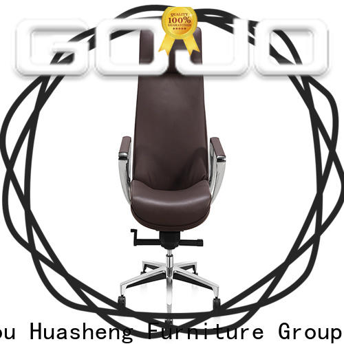 GOJO leather office chair with arms Suppliers for executive office