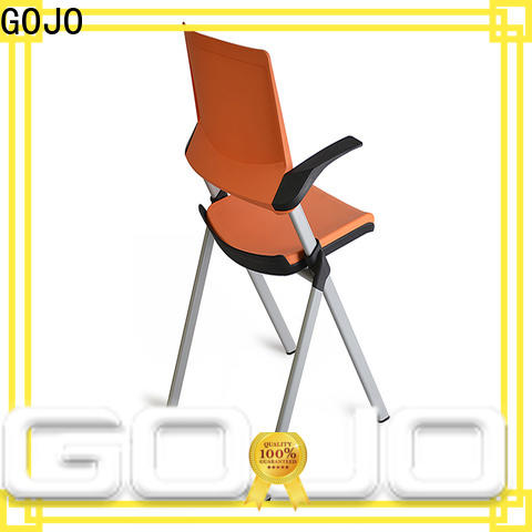 GOJO Top white office chair Suppliers for training area
