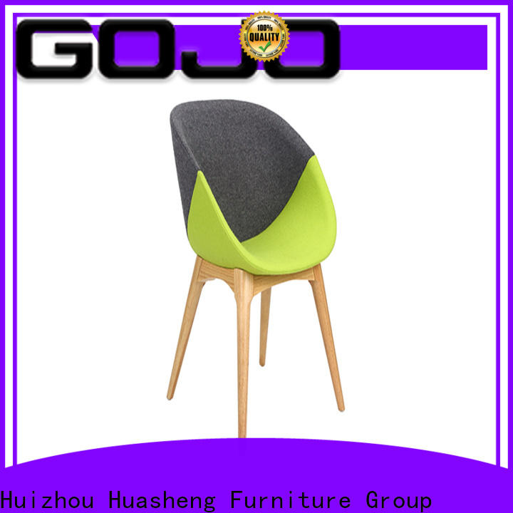 GOJO modern white lounge chair factory for bar