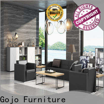 GOJO guanz leather waiting room furniture factory for guest room