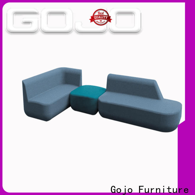 GOJO New leather couch set for business for reception area