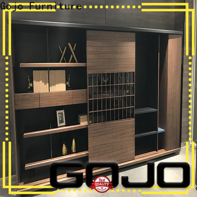 GOJO room divider bookcase factory for storage