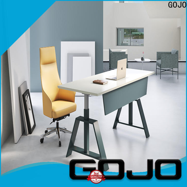 GOJO customized modern office desk manufacturers for staff room