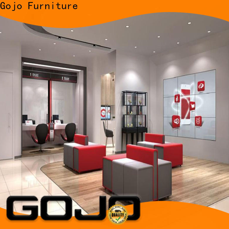 Gojo furniure customized banks dining table factory for executive office