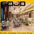 Gojo furniure cafeterior01 hotel bed furniture company for reception area