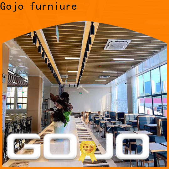 Gojo furniure Latest motel room furniture for sale factory for reception area