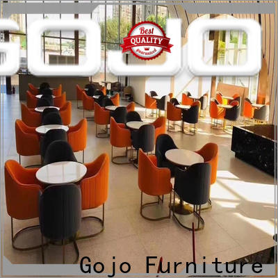 Gojo furniure Top round cafeteria tables for business for guest room