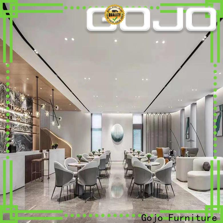 Gojo furniure Best contemporary hotel furniture company for reception area