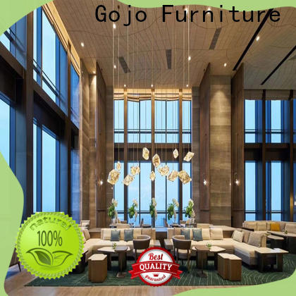Gojo furniure High-quality hotel tables and chairs for business for guest room