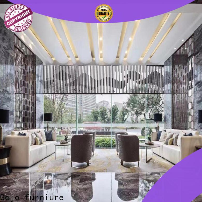 Gojo furniure public hotel lounge furniture for business for lounge area