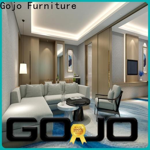 Gojo furniure room hotel bedroom furniture Supply for reception area