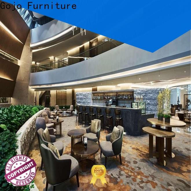 Gojo furniure hotel motel room furniture Suppliers for reception area
