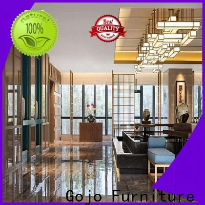 Gojo furniure area02 commercial hotel furniture Supply for guest room
