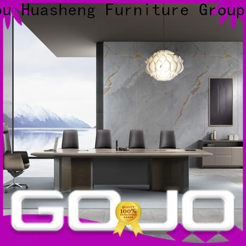 Gojo furniure commercial office conference room table factory for reception area