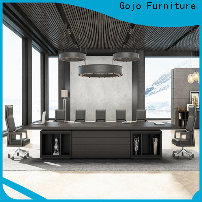 Gojo furniure High-quality wood conference tables Supply for reception area