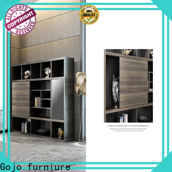 Gojo furniure best storage cabinet Supply for lounge area