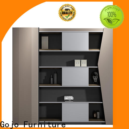 Gojo furniure highend small wood file cabinet company for guest room
