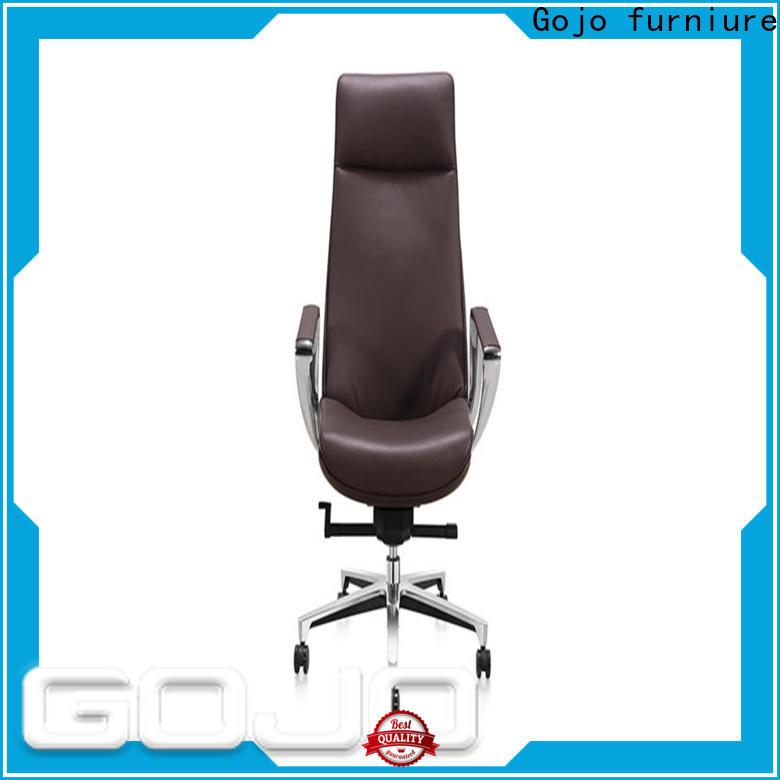 Gojo furniure executive best executive chair Supply for reception area