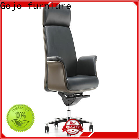 New luxury leather office chair boardroom manufacturers for reception area